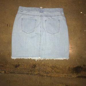 Dresses & Skirts - Light Blue Jean Skirt